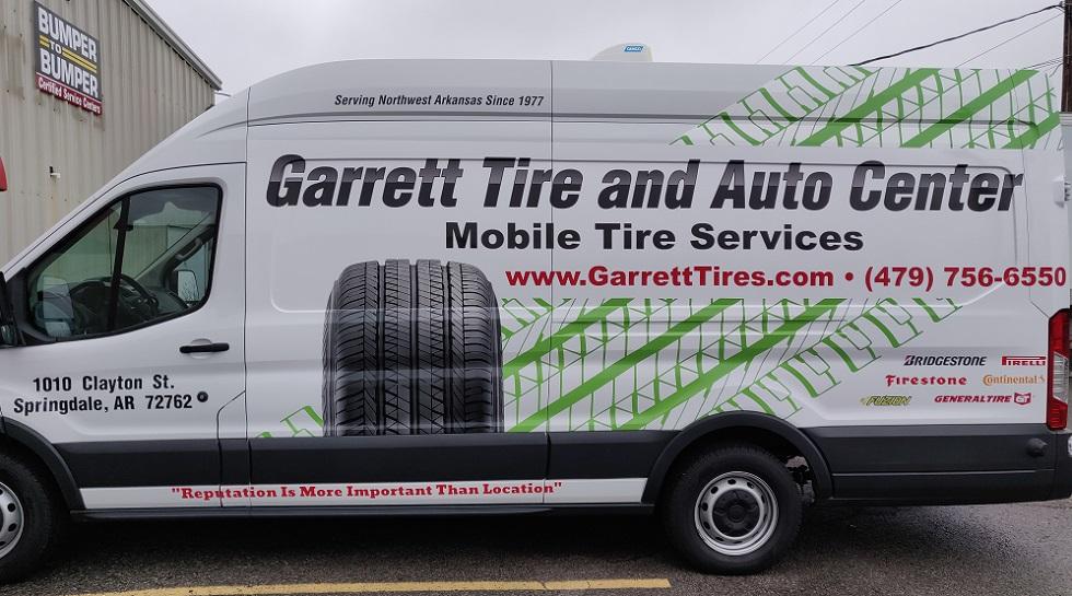 Mobile Tire Service >> Mobile Tire Service Springdale Ar Garrett Tire And Auto Center